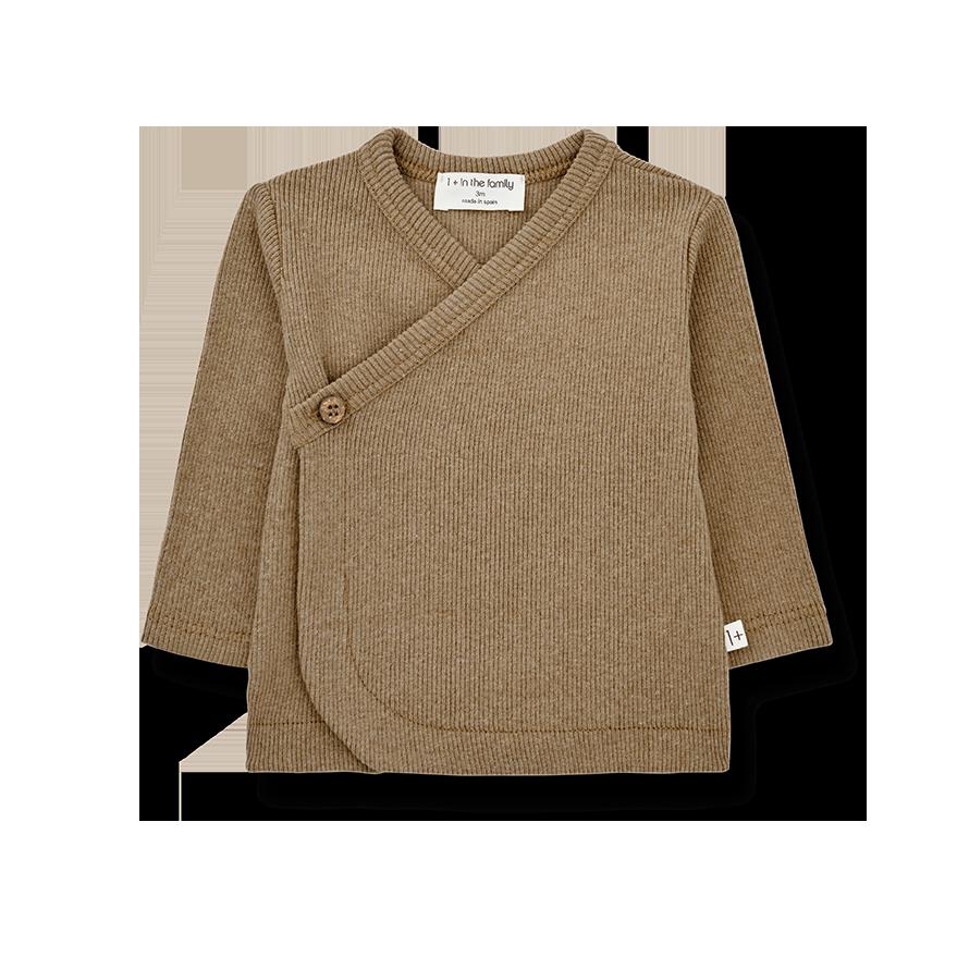 Fiona newborn shirt brandy-1