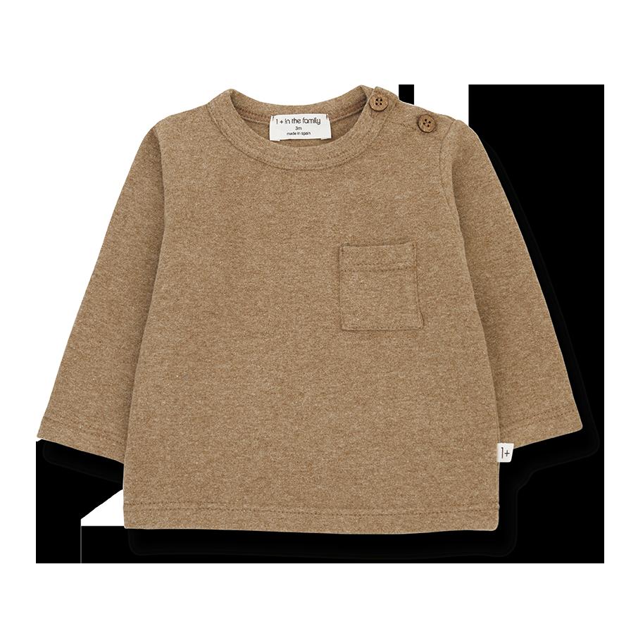 Oriol t-shirt brandy-1