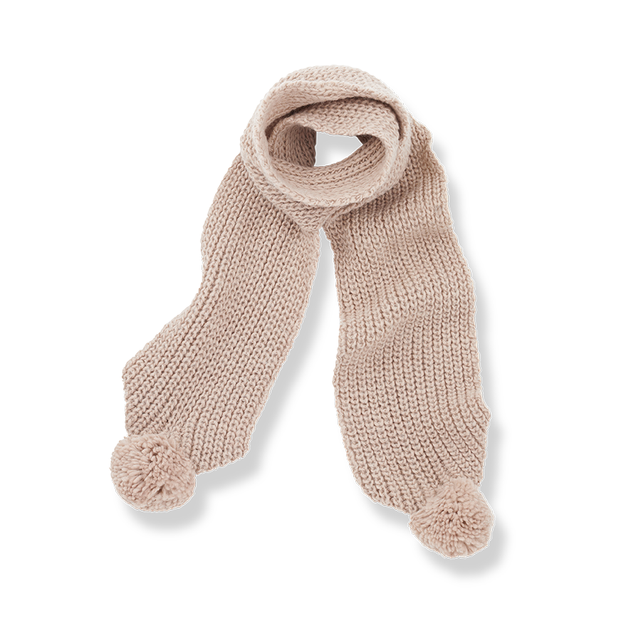 Clyde scarf rose-1