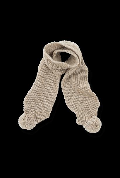 Clyde scarf beige