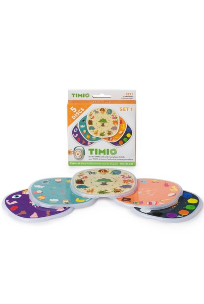 Timio disc pack set 1