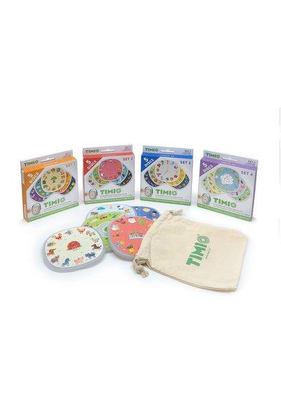 Timio disc pack set 2