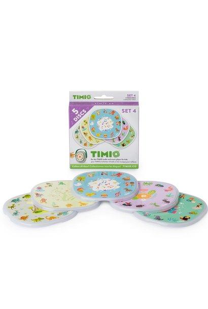 Timio disc pack set 4