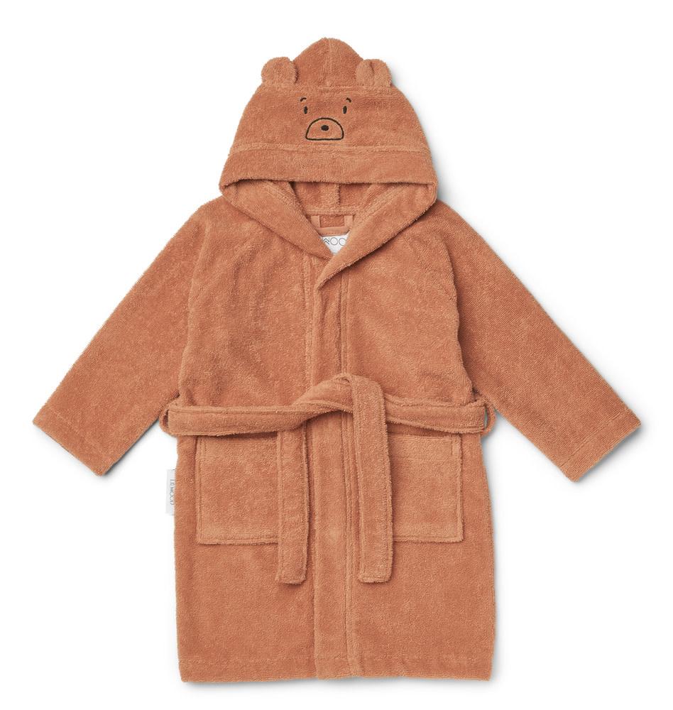Lily bathrobe bear tuscany rose-1