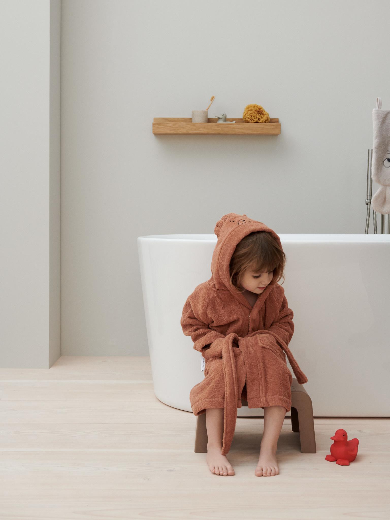 Lily bathrobe bear tuscany rose-3