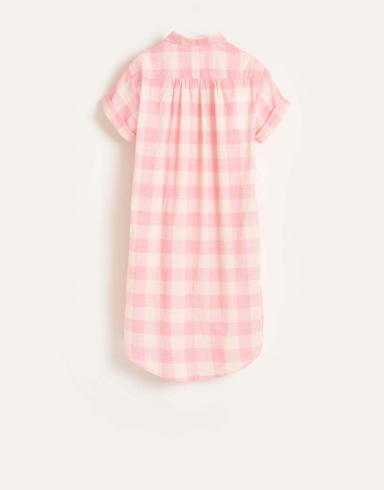 Angie dress check-5