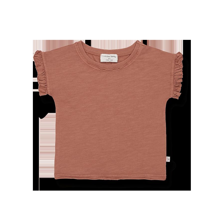 Mireia short sleeve t-shirt roibos-3