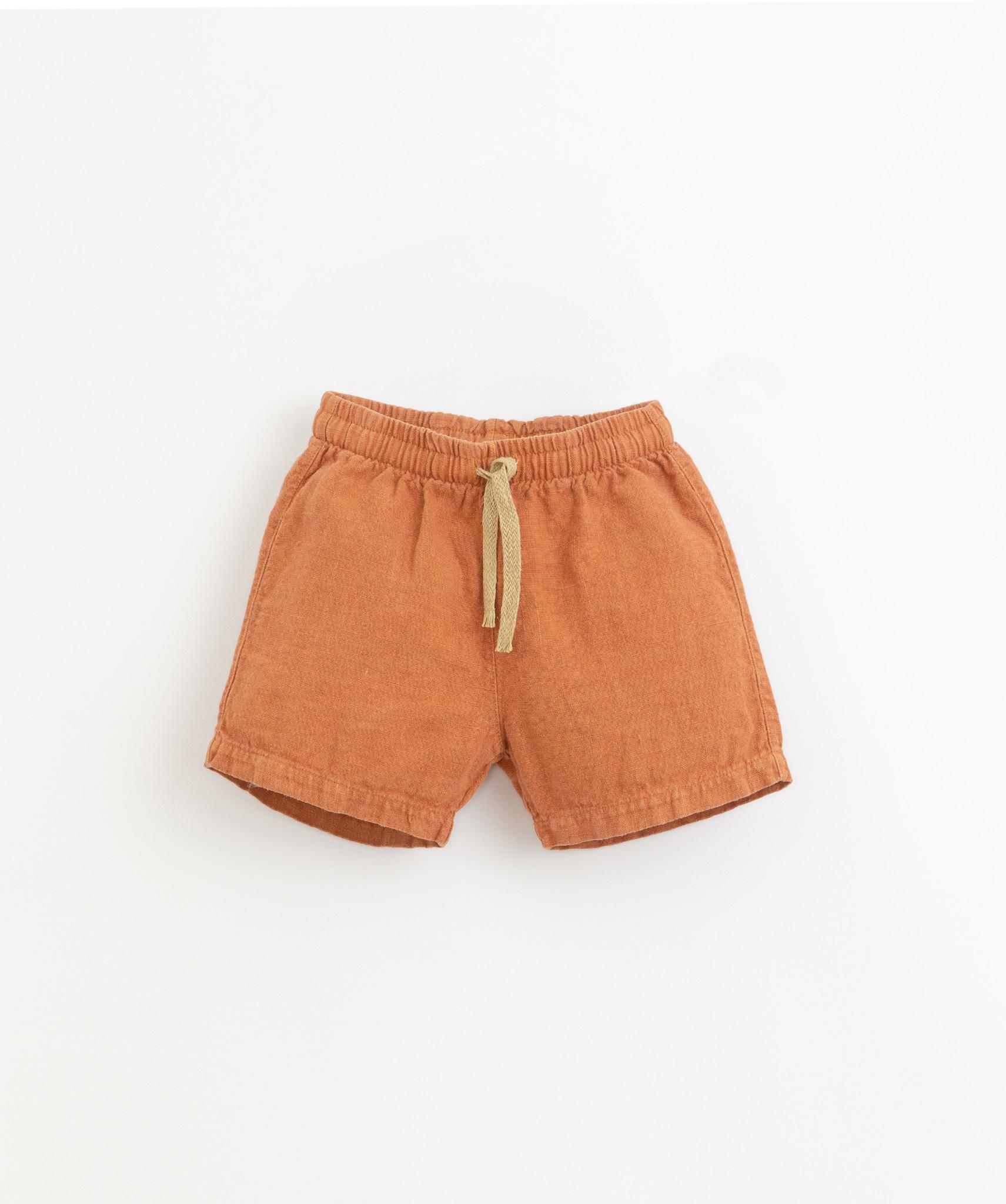 Linen shorts raquel-3