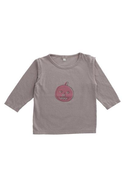 T-shirt tralo pumpkin plum