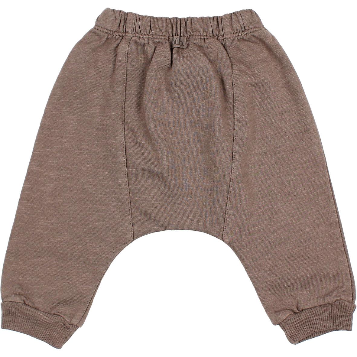 Fleece pants taupe-2