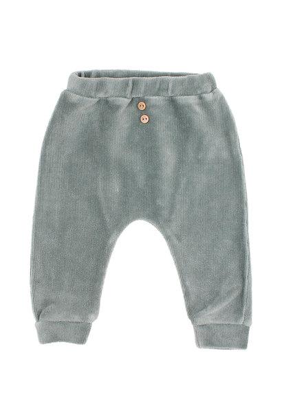 Velvet pants storm grey