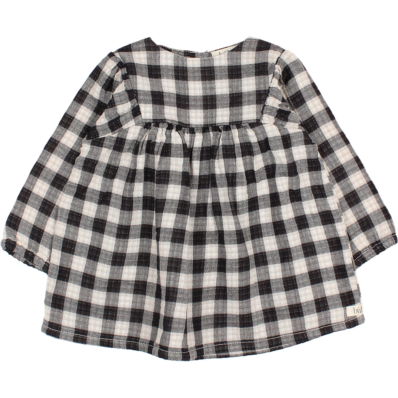 Check dress mini vichy-3