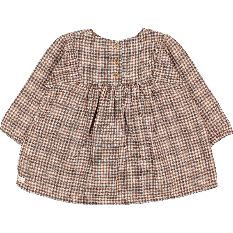 Check dress mini vichy-5