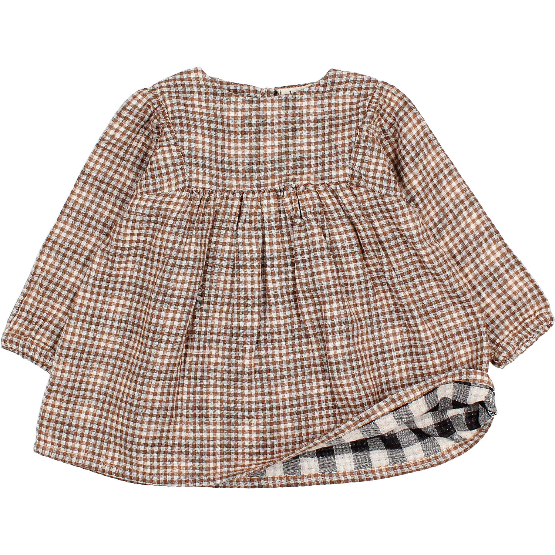 Check dress mini vichy-2