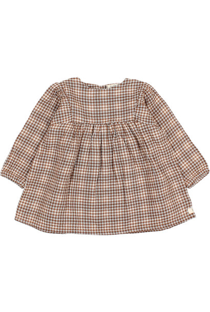 Check dress mini vichy