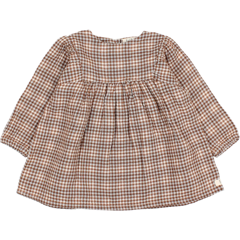 Check dress mini vichy-1