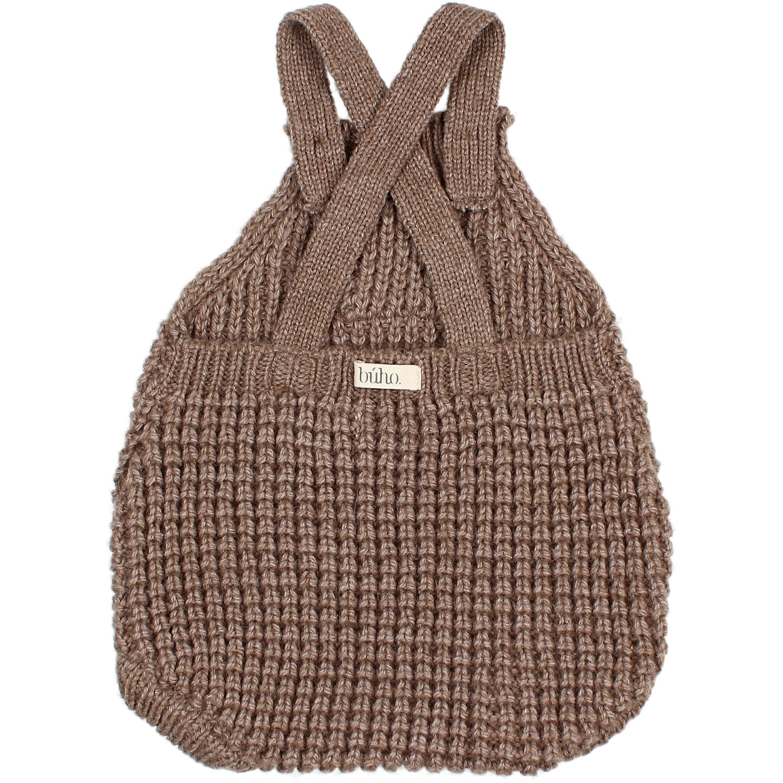 Soft knit romper wood-2