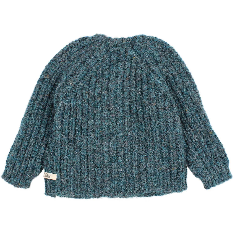 Ribbed knit cardigan north sea-2