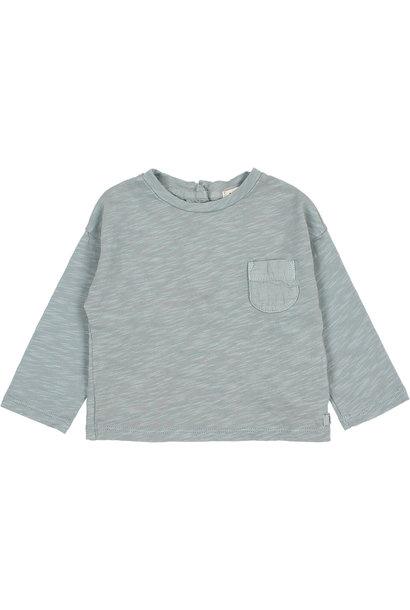 Pocket t-shirt storm grey baby