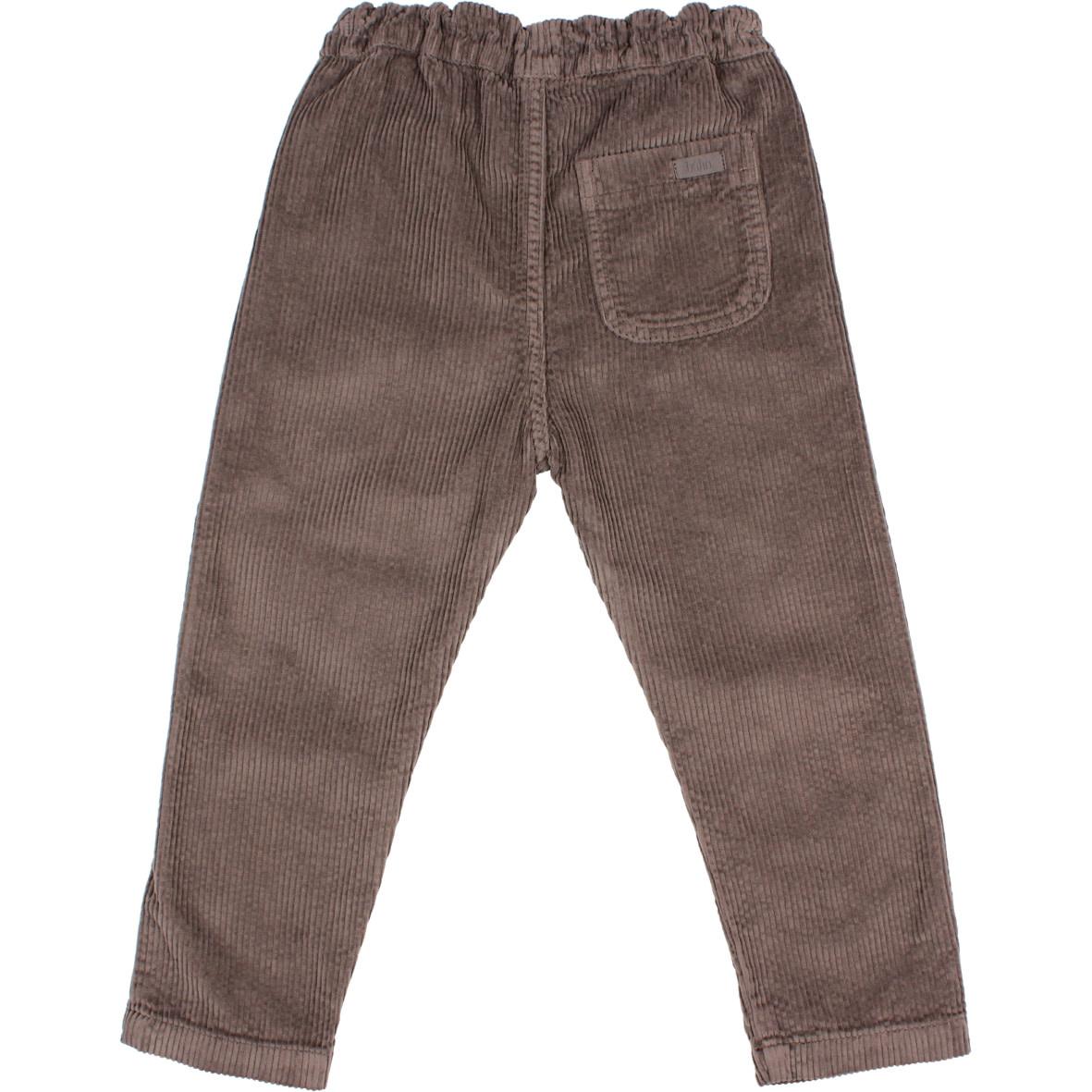 Corduroy pants taupe-2
