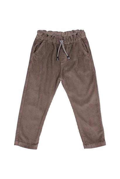 Corduroy pants taupe