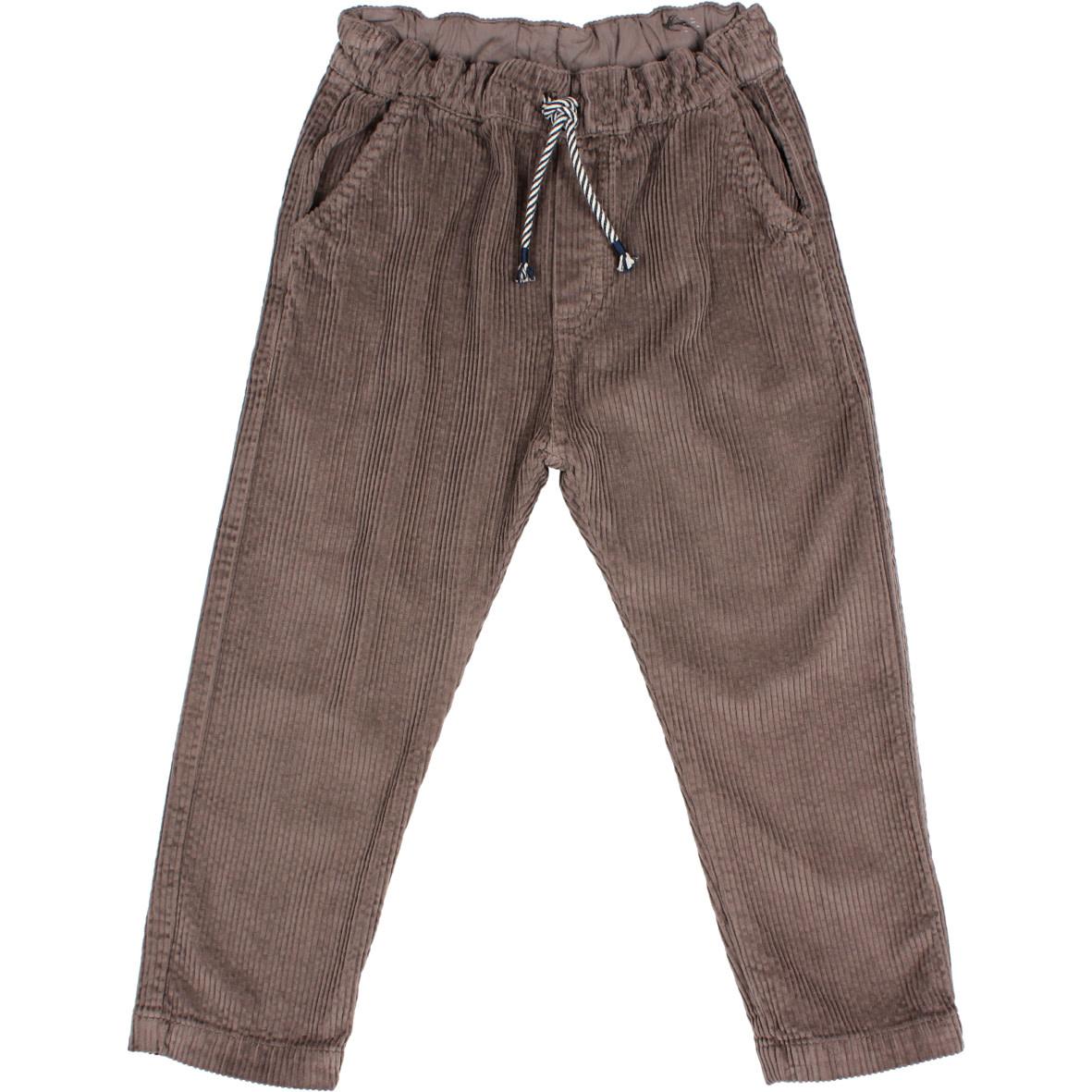 Corduroy pants taupe-1