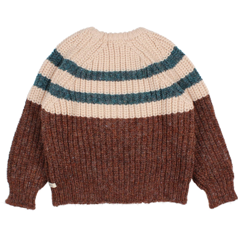 Stripes knit jumper only-2