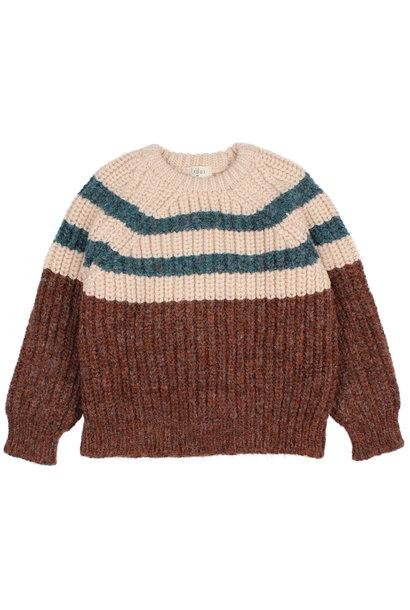 Stripes knit jumper only