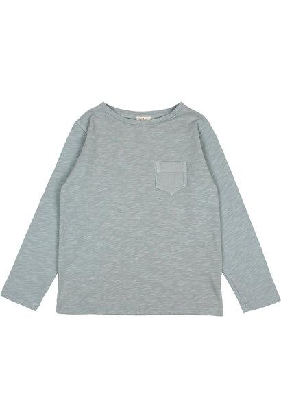 Pocket t-shirt storm grey