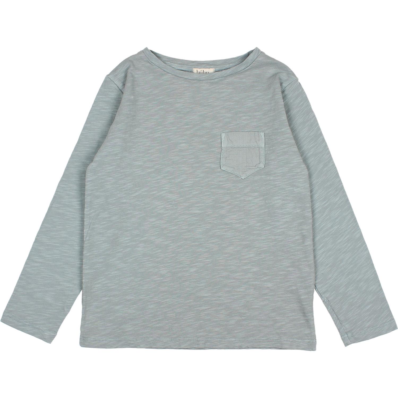Pocket t-shirt storm grey-1