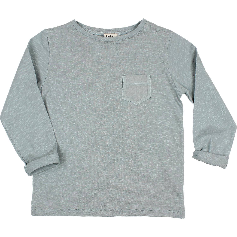 Pocket t-shirt storm grey-3