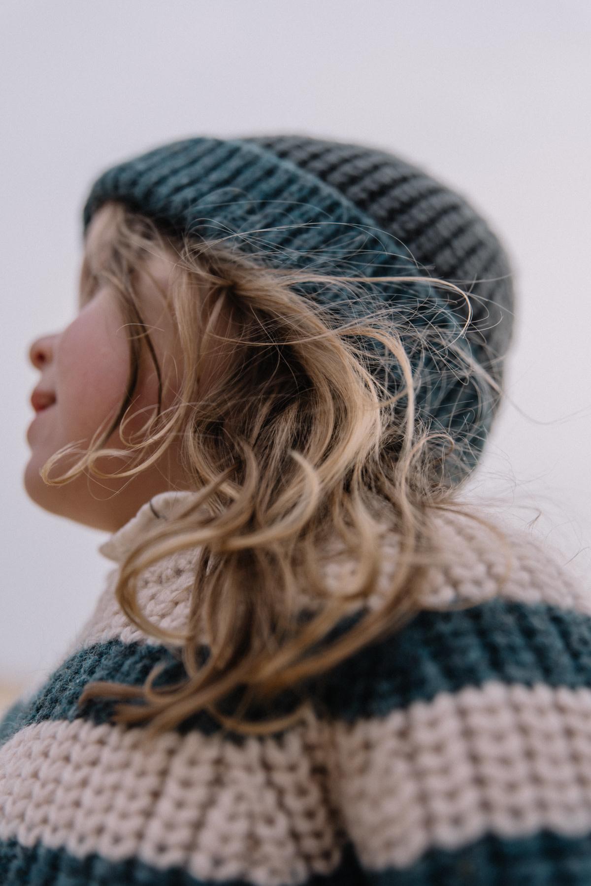 Stripes knit jumper only-4