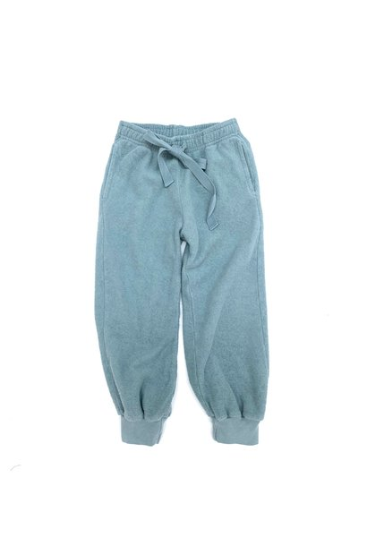Terry joggers old blue