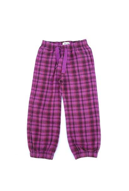 Checkpants purple