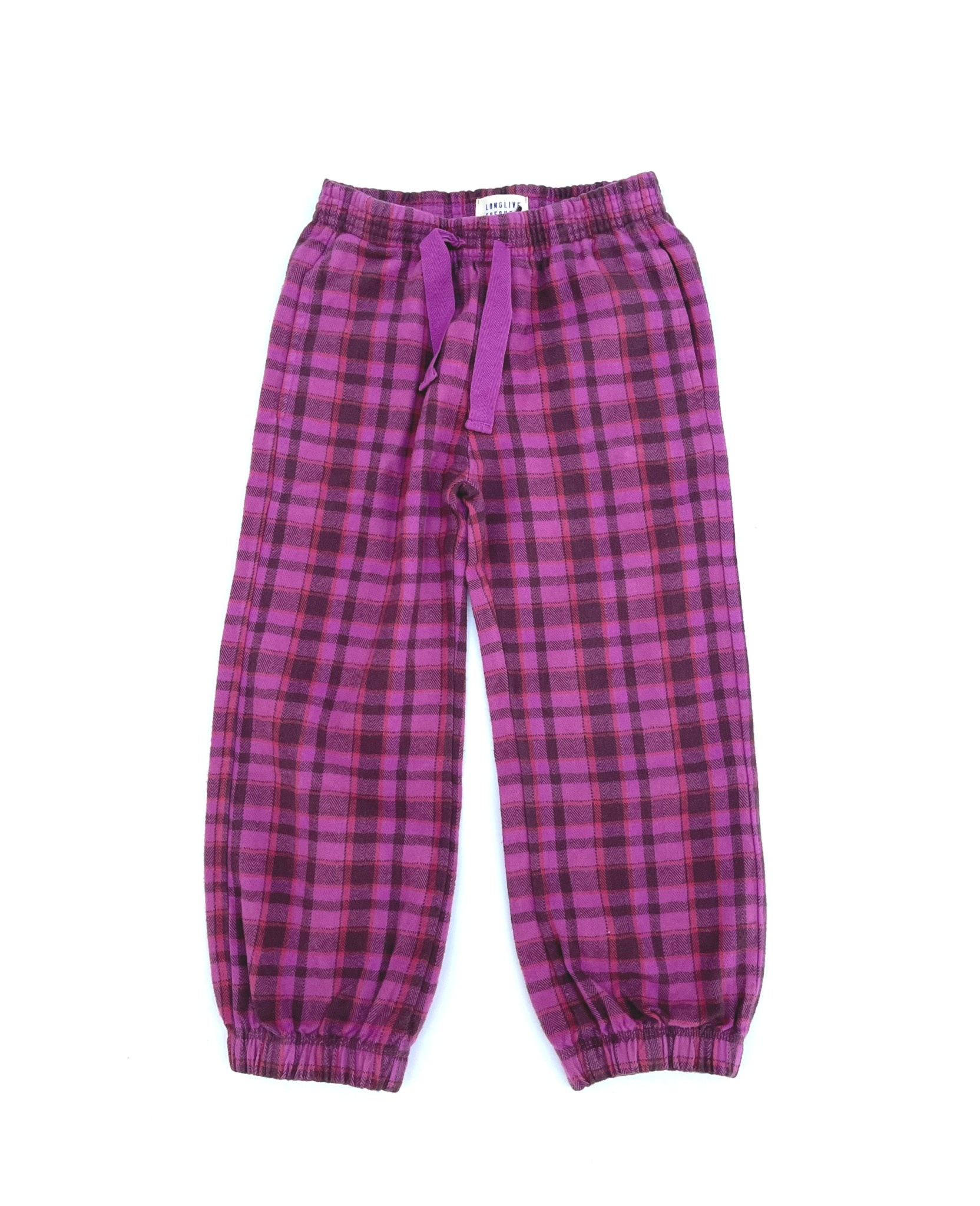 Checkpants purple-1