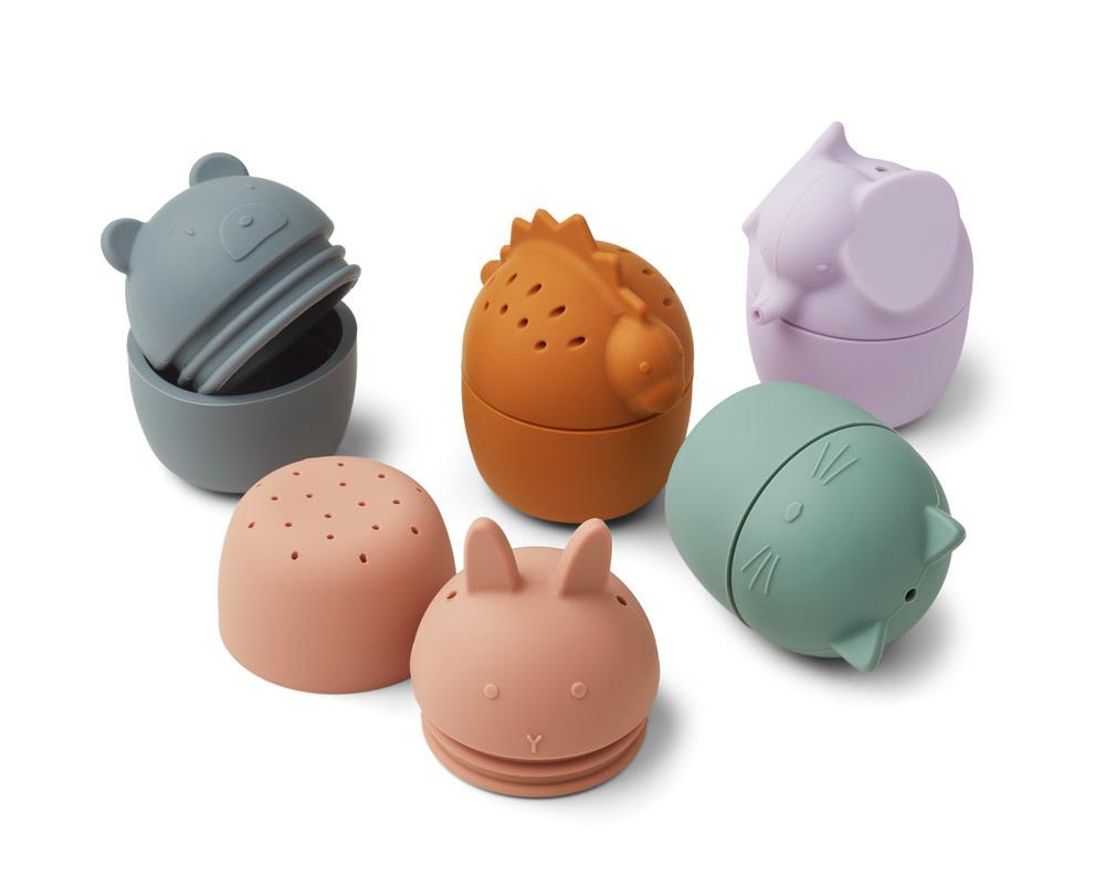 Gaby bath toys multi mix - 5 pack-1