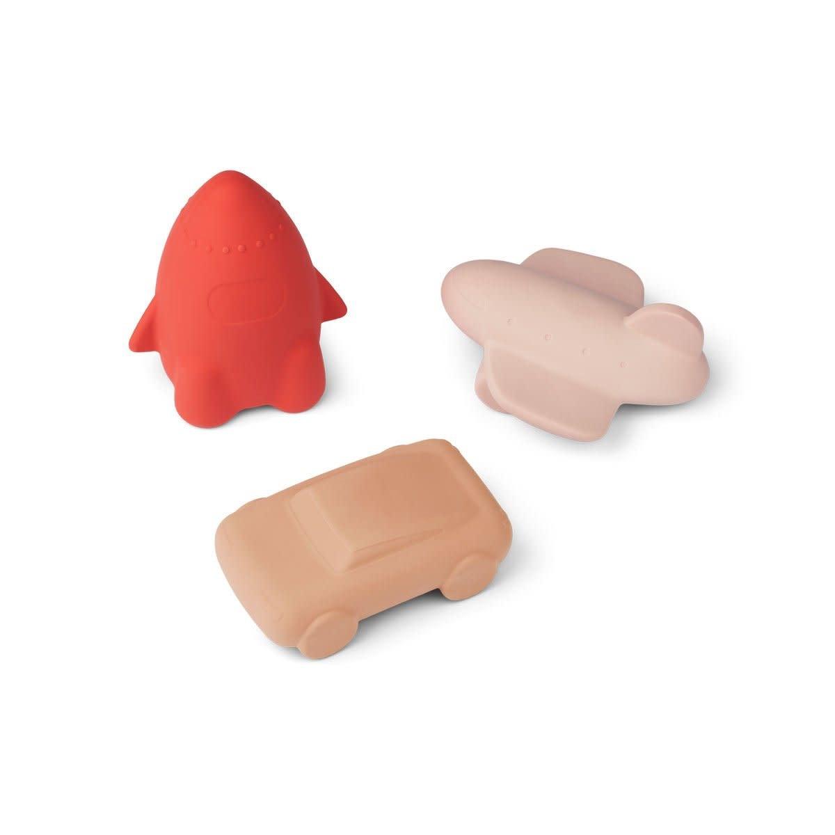 Jacob toys rose multi mix - 3 pack-1