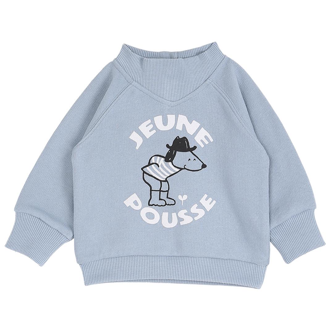 Sweatshirt lac jeune pousse-1