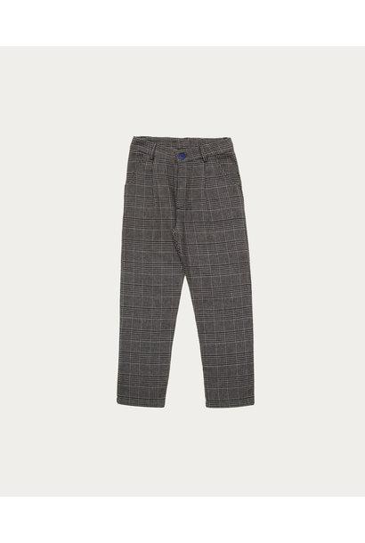 Grey checked pants