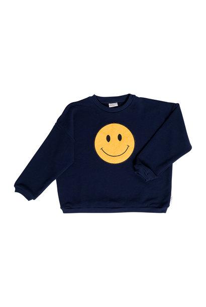 Winkey whale sweatshirt baby