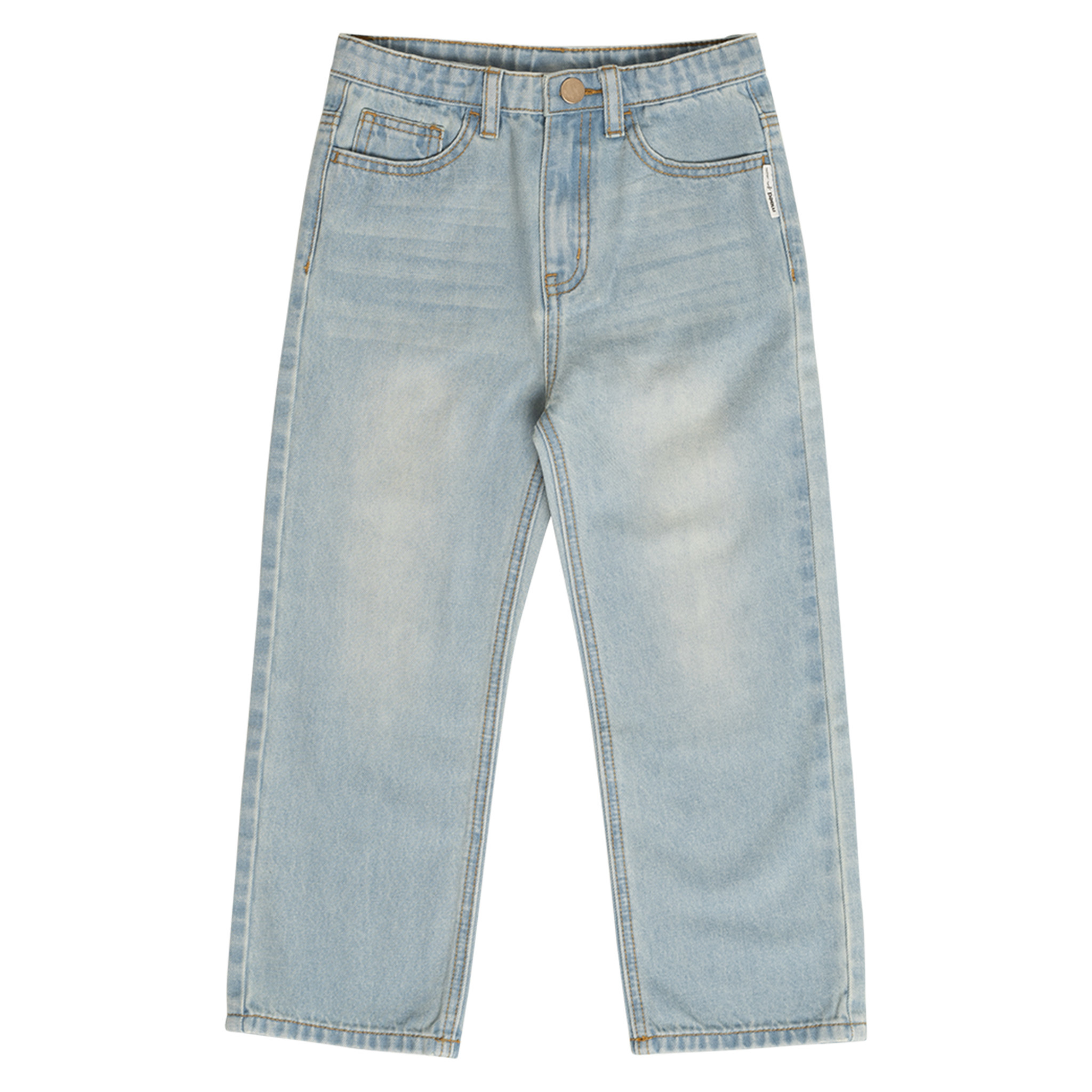 Balanced bull jeans-1