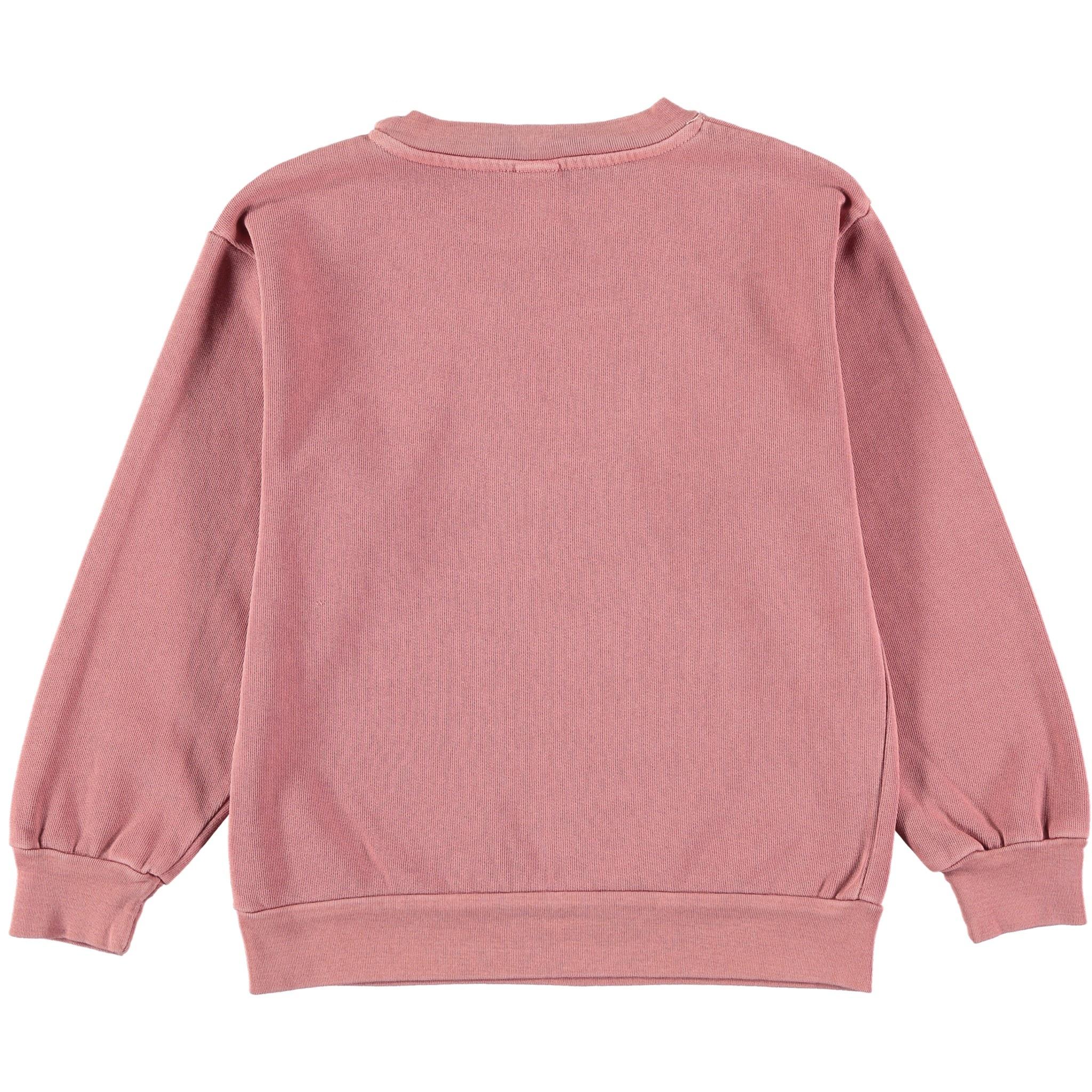 Sweatshirt bonmot mountain rust baby-2
