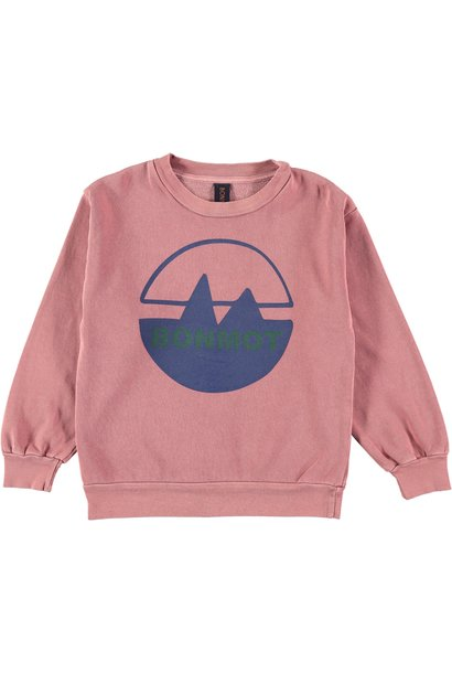 Sweatshirt bonmot mountain rust baby