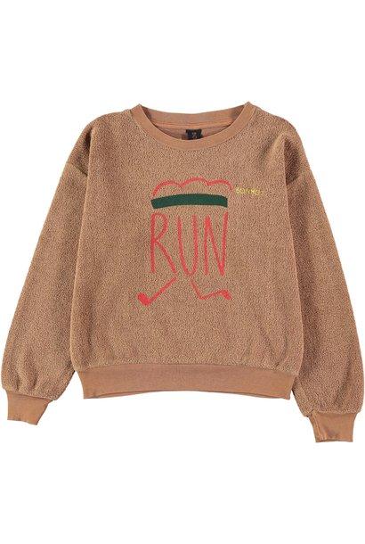 Sweatshirt runner wood baby