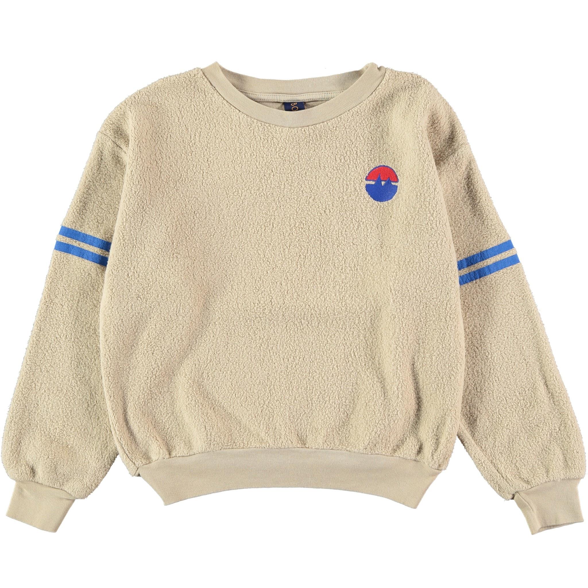 Sweatshirt sleeve stripes fog baby-1