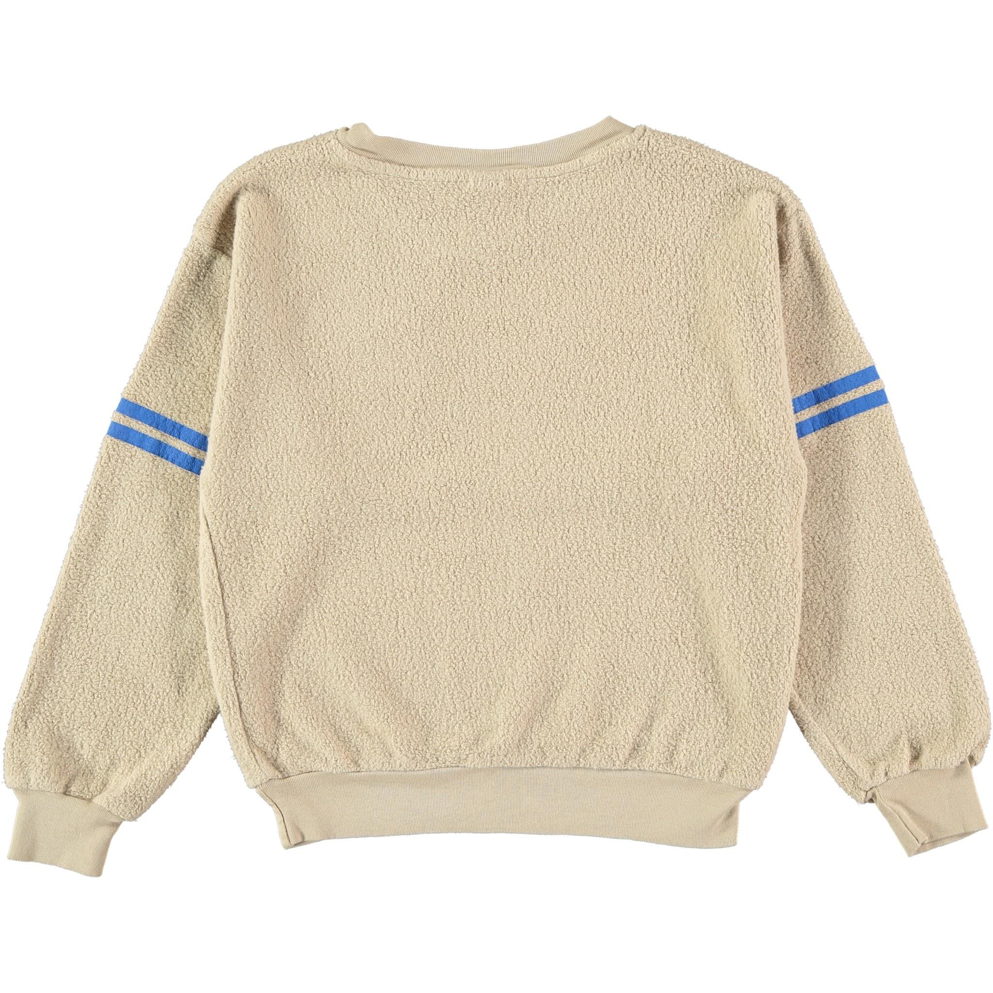 Sweatshirt sleeve stripes fog-2