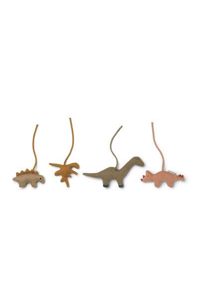 Gio playgym accessoires dino golden caramel/multi mix