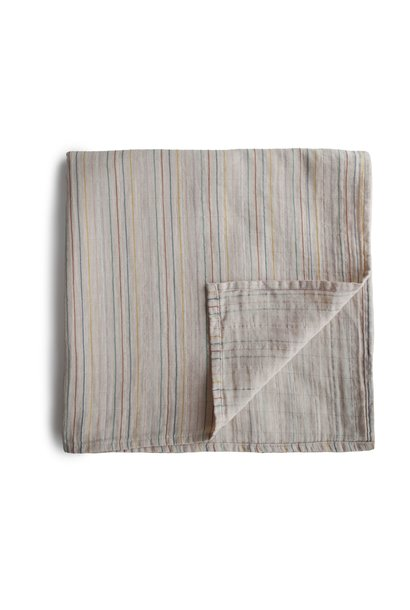 Swaddle retro stripes