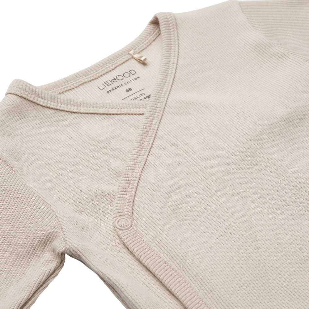 Hali body stocking ls creme/sandy mix - 2 pack-3