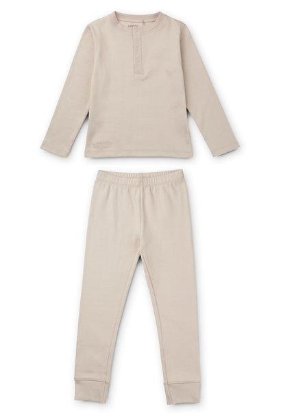 Wilhelm pyjamas set sandy baby